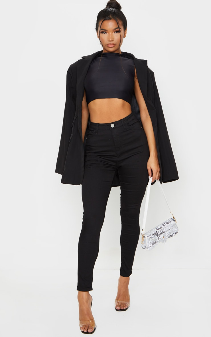 Black Bum Shape Jeans 1