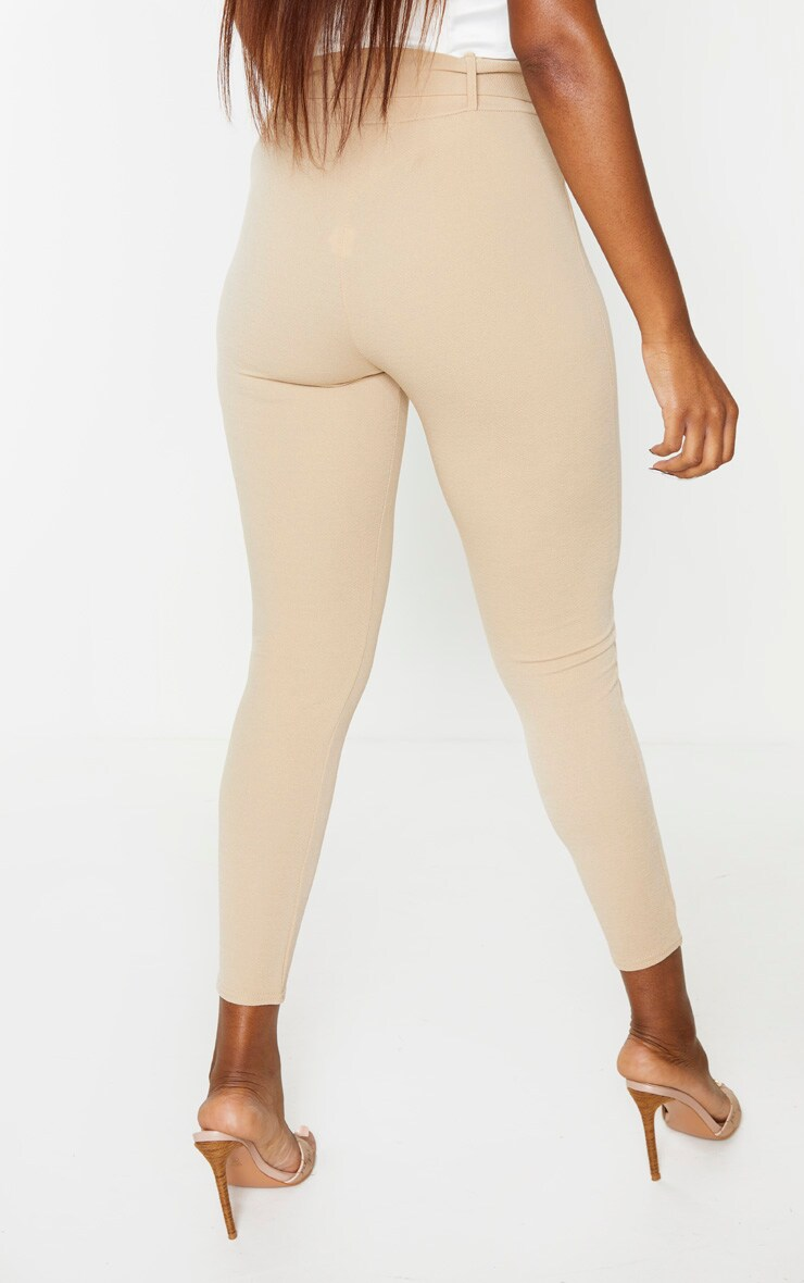 Stone Belted Skinny Pants 4