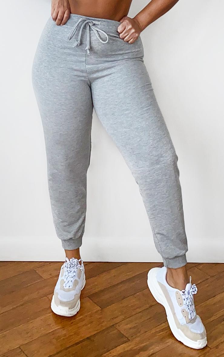 Plus Grey Ultimate Marl Sweat Joggers 2
