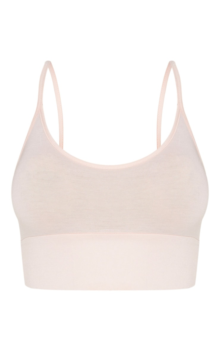 Nude Jersey Elasticated Bralet 5