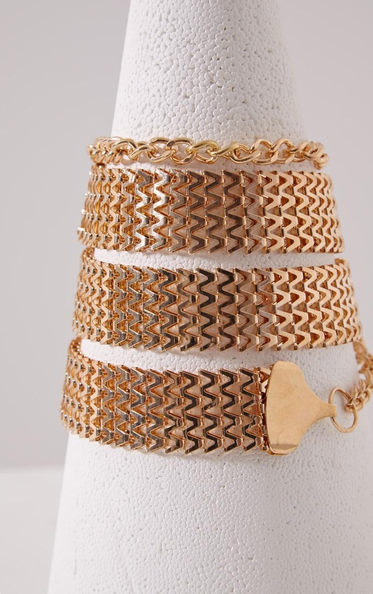 Lucha Gold Chain Belt 2