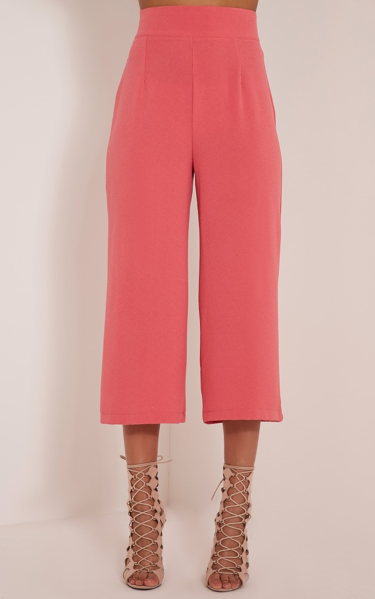 Tazmin Coral High Waisted Culottes 2