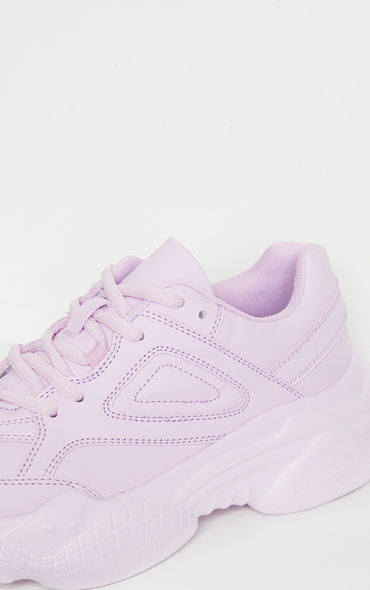 Lilac Arch Sole Chunky Sneakers 4