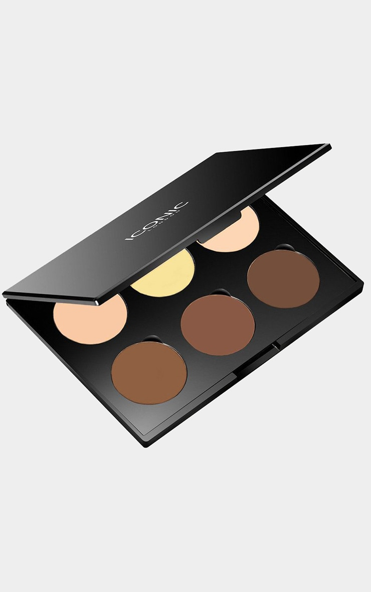 Iconic London Multi Use Cream Contour Palette 2
