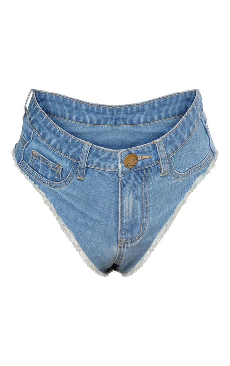Mid Wash Denim Knicker 3