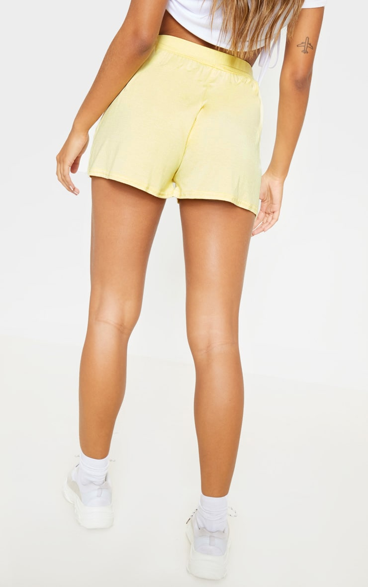 Lemon Jersey Floaty Shorts 4