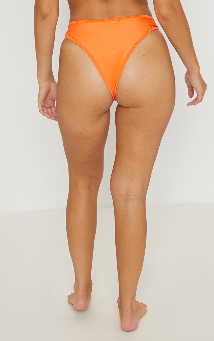 Bas de maillot de bain brésilien orange Mix & Match 4