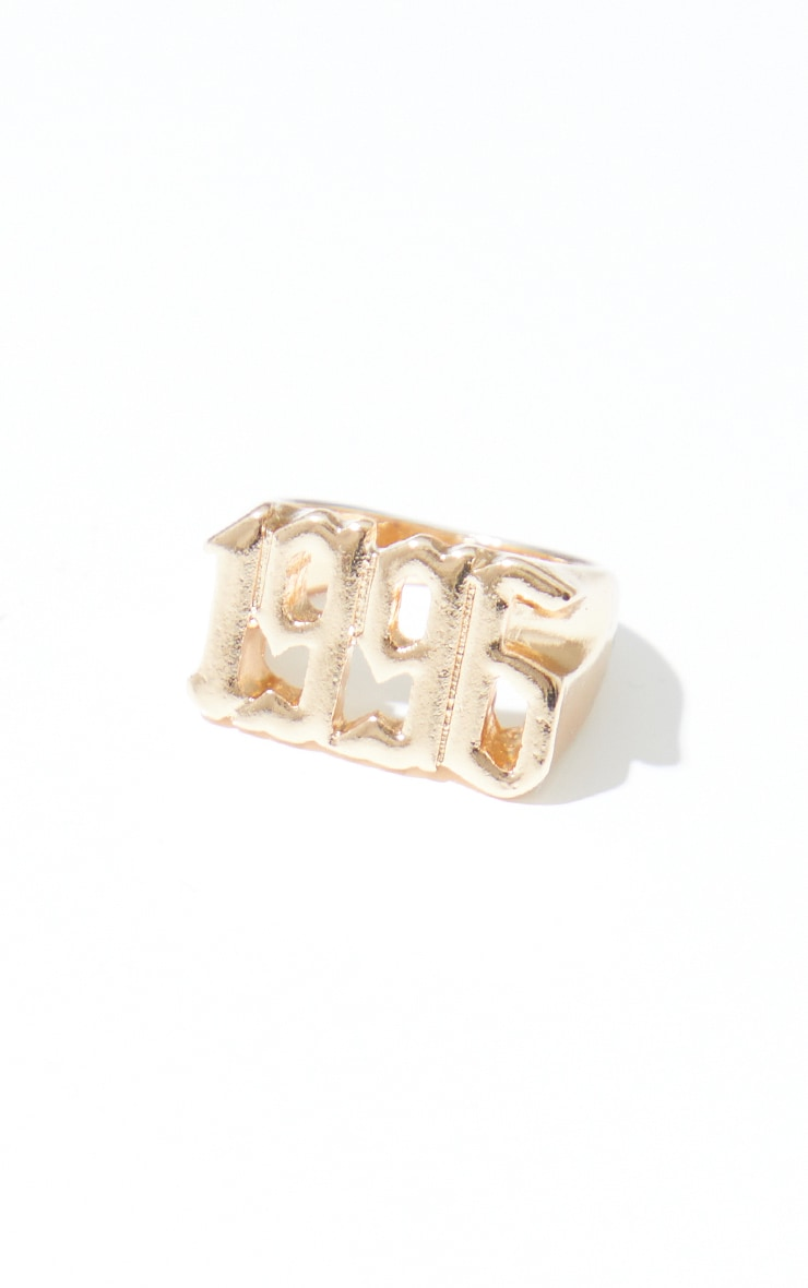 1996 Gothic Font Ring 2