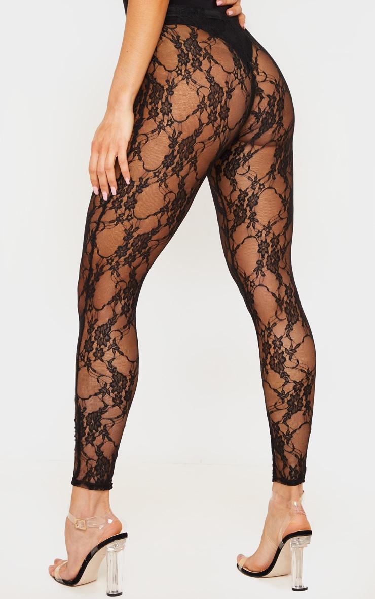Black Lace Leggings 4