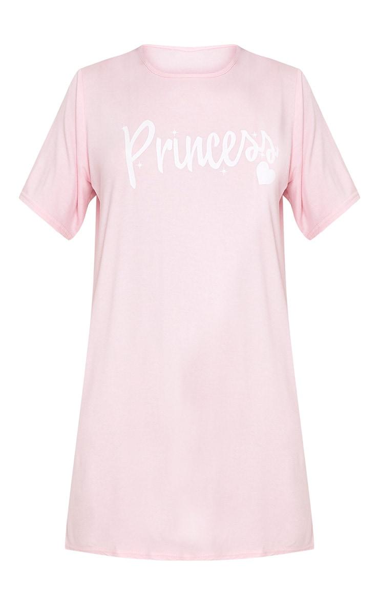 Chemise de nuit surdimensionnée rose Princess 3