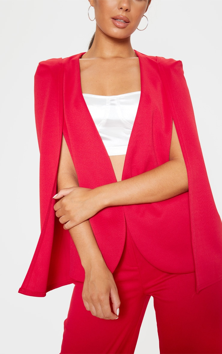 Red Cape Blazer 5