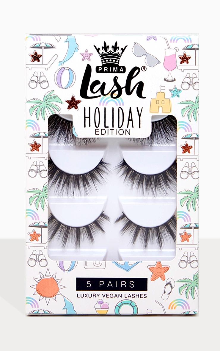PrimaLash - Lot de 5 paires de faux cils  Glam Holiday Exclusive 1