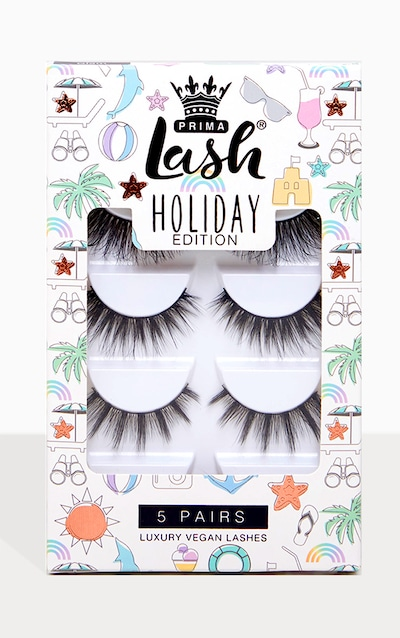 471b6b802c2 PrimaLash Holiday Exclusive 5 Pack Lashes Glam PrettyLittleThing Sticker