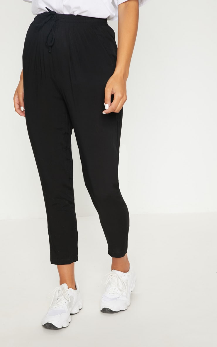 Diya Black Casual Trouser 2