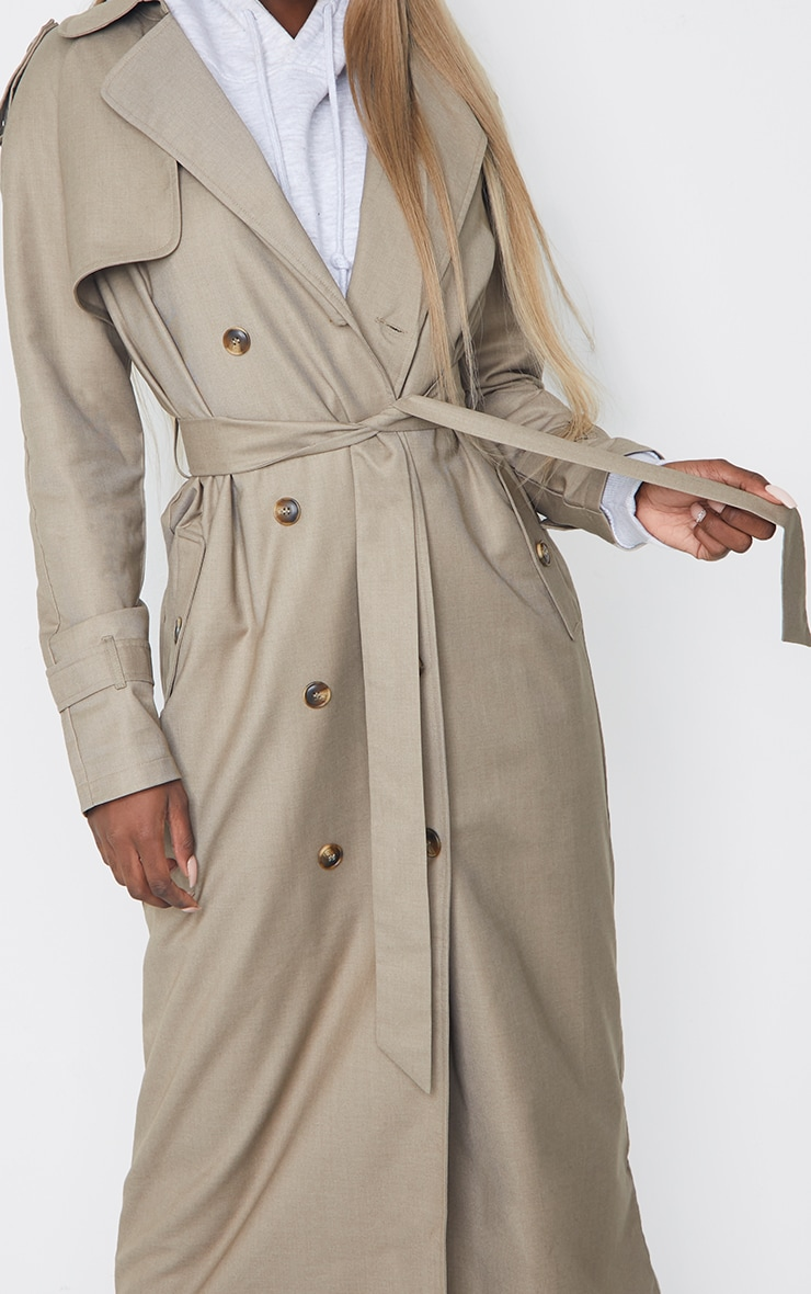 Tall Stone Oversized Trench 4