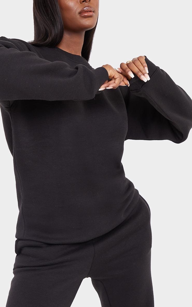 Tall Black Ultimate Oversized Sweatshirt 4