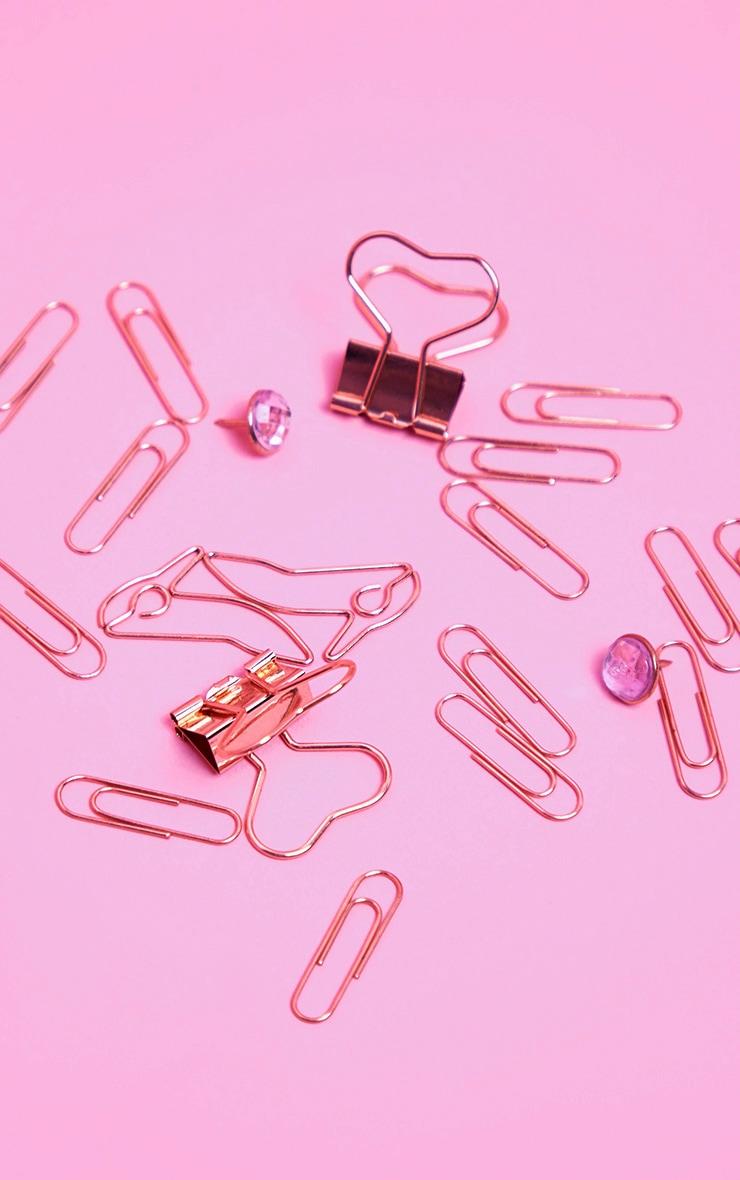 Barbie Rose Gold Desk Accessories 2