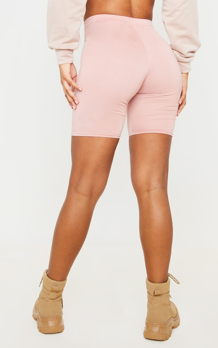 Basic Dusty Rose Cycle Shorts 3