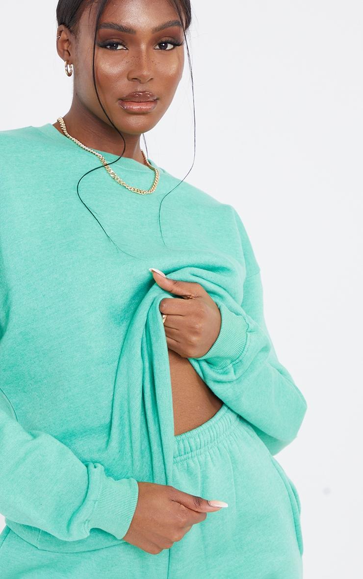 Tall Sage Green Ultimate Oversized Sweatshirt 4