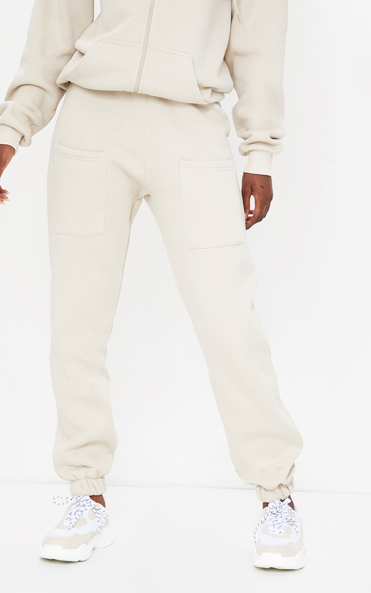 Tall Stone Pocket Thigh Casual Joggers 2