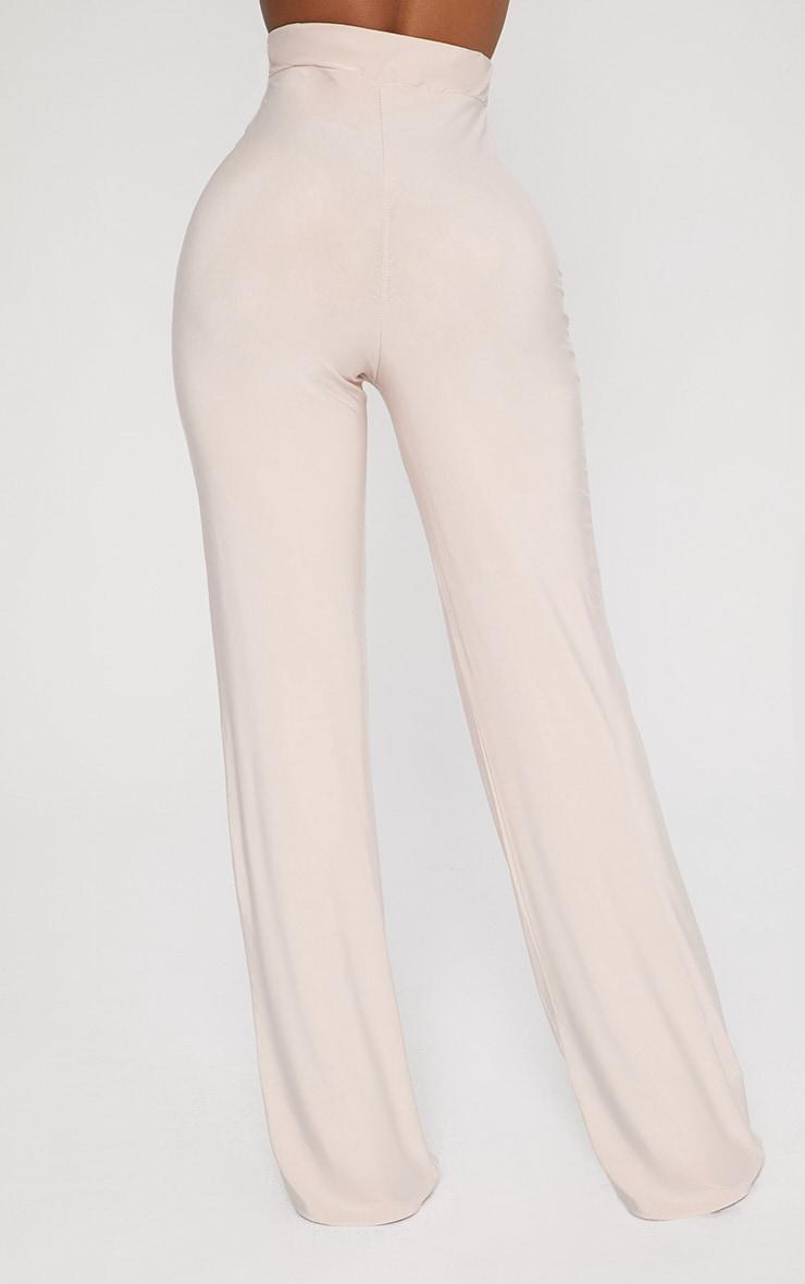 Shape Nude Slinky Wide Leg Trousers 3