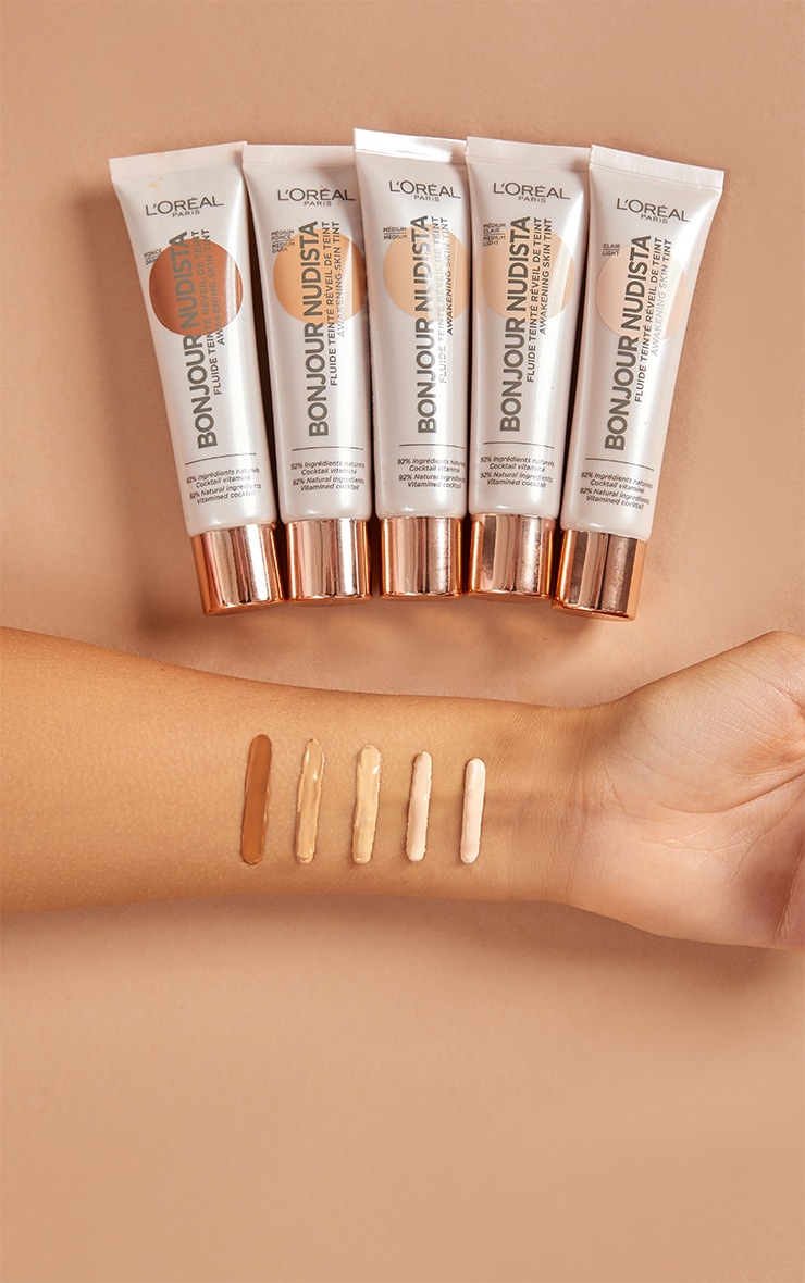 L'Oréal Paris Bonjour Nudista Skin Tint Cream Dark 4