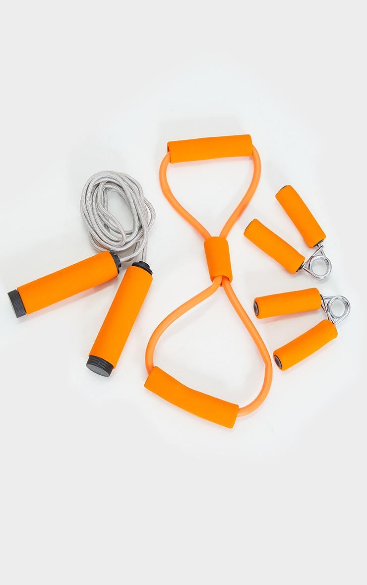 PRETTYLITTLETHING Orange Work Out Kit 1