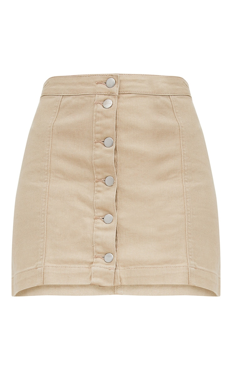 Cammie Stone Denim Mini Skirt 3