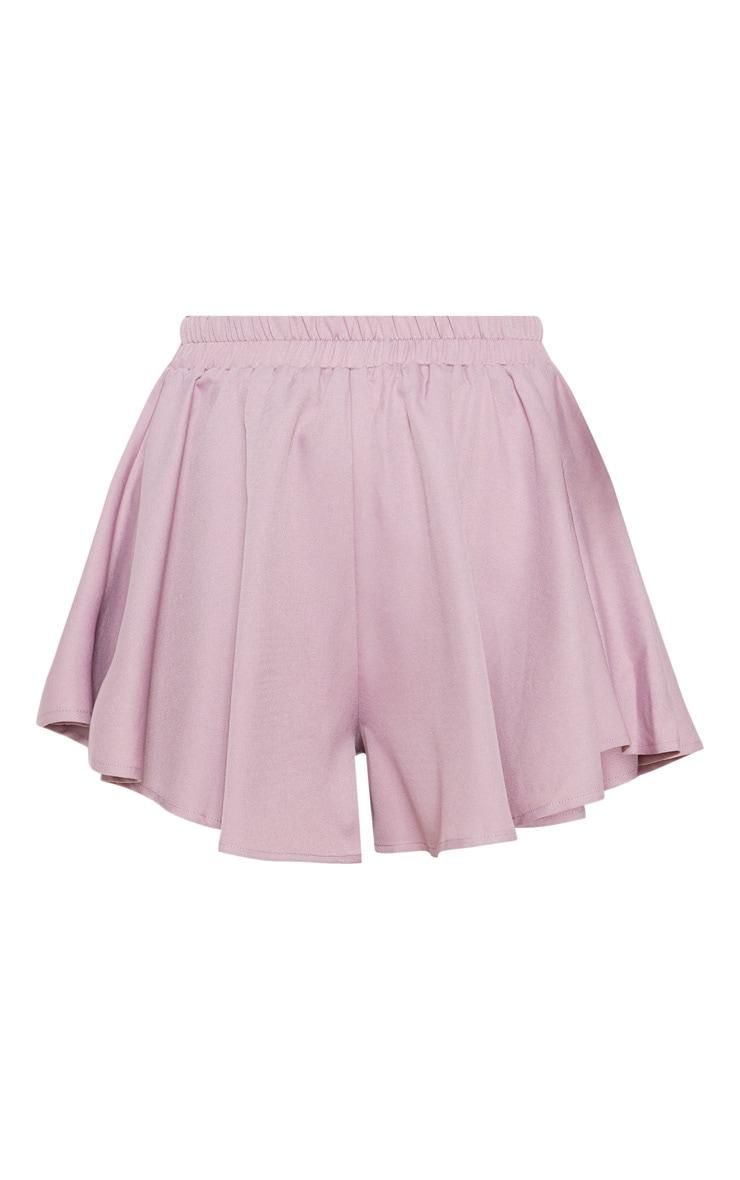 Dusty Lilac Floaty Shorts 3