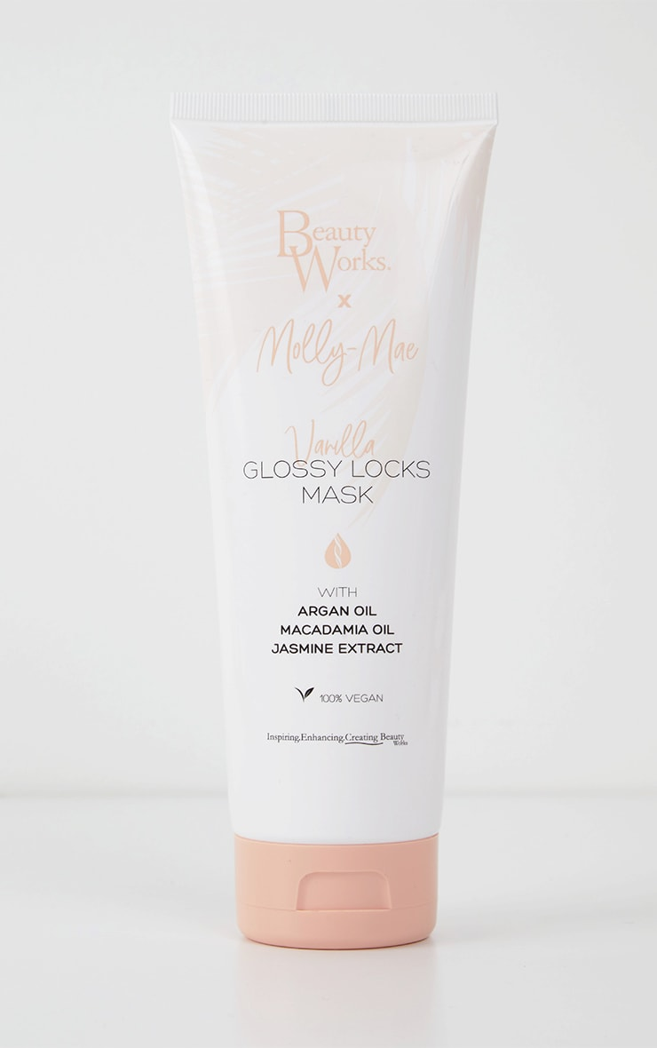 Beauty Works x Molly Mae - Masque pour less cheveux Glossy Locks 250ml 5