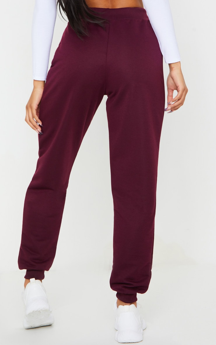 Maroon Ultimate Sweat Track Pants 3