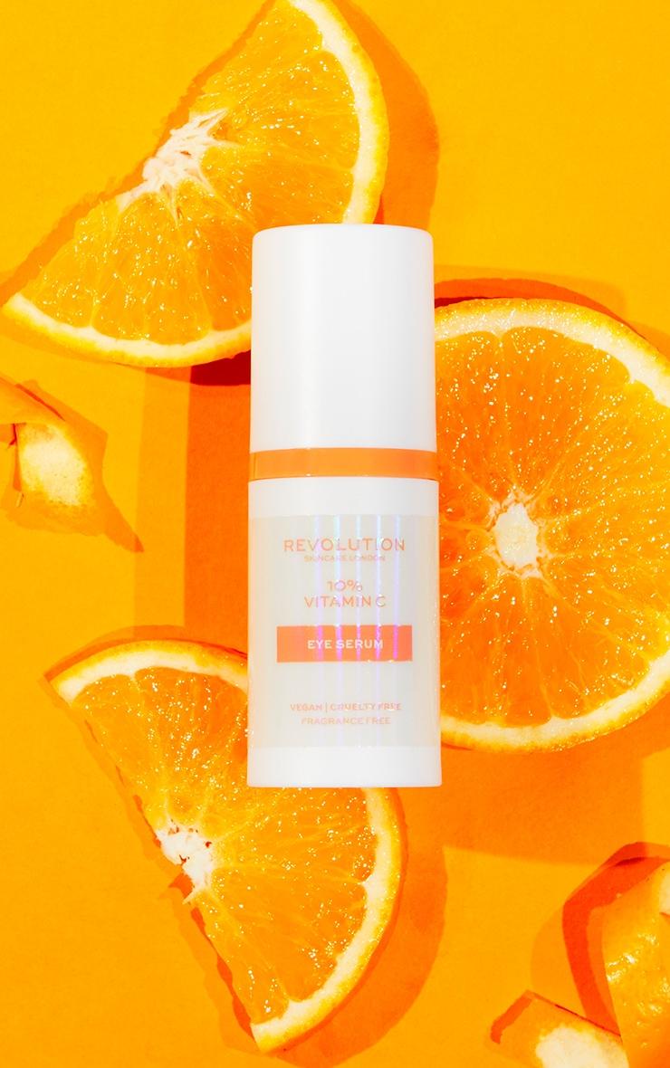 Revolution Skincare 10% Vitamin C Brightening Power Eye Serum image 1
