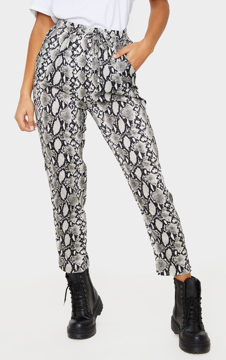 White Snake Casual Pants 2