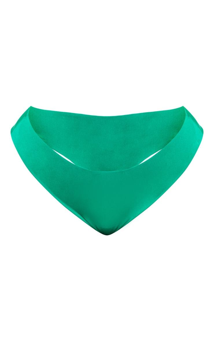 Plus Bright Green Bikini Bottom 3