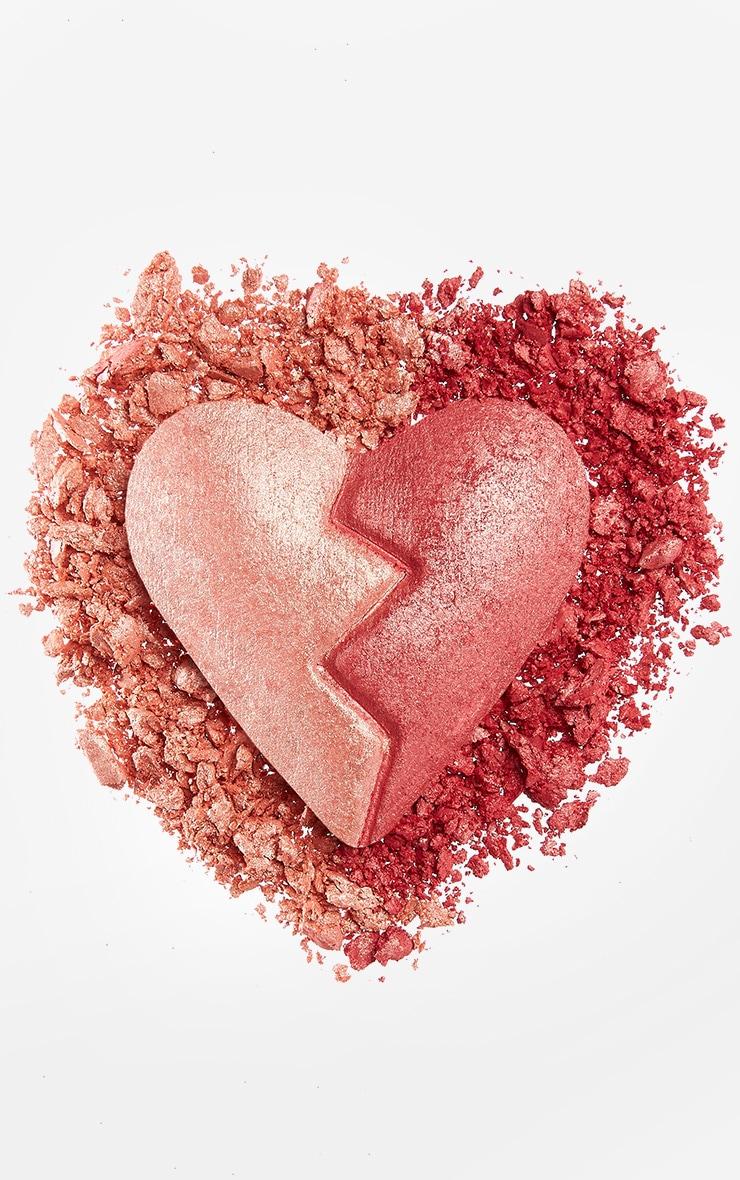 I Heart Revolution Heartbreakers Shimmer Blush Strong 4