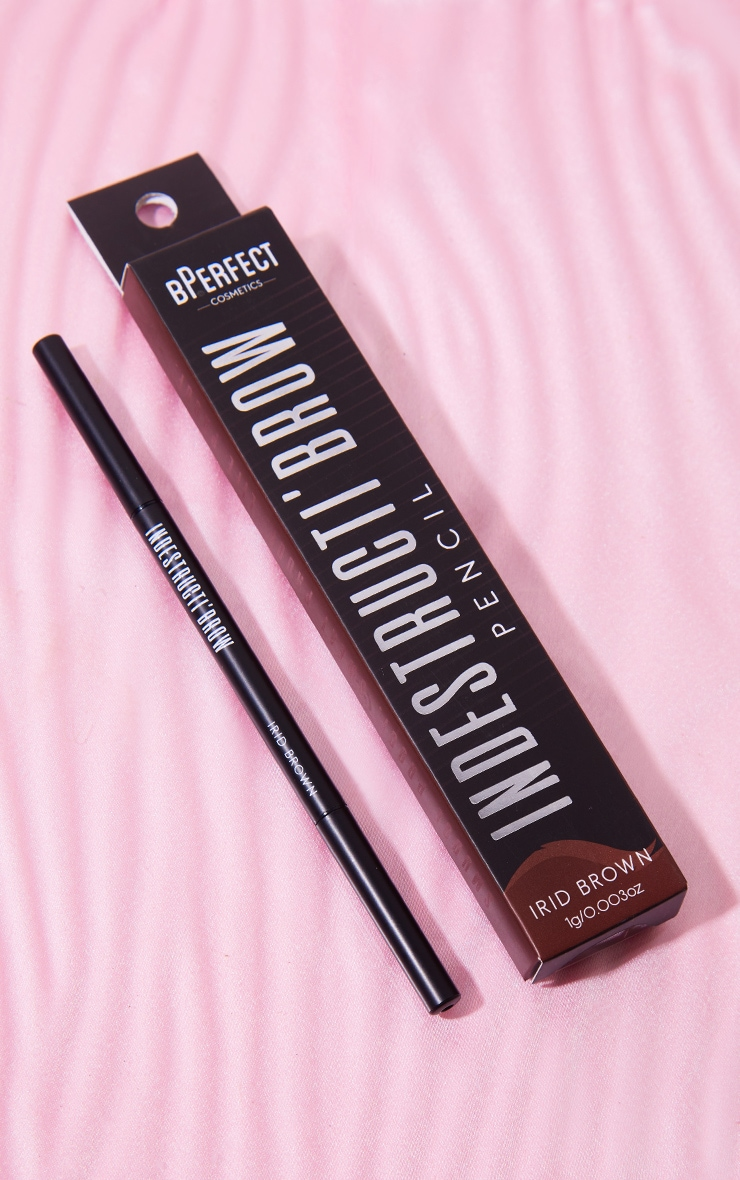 BPerfect Cosmetics Indestructi'brow Pencil Irid Brown 2