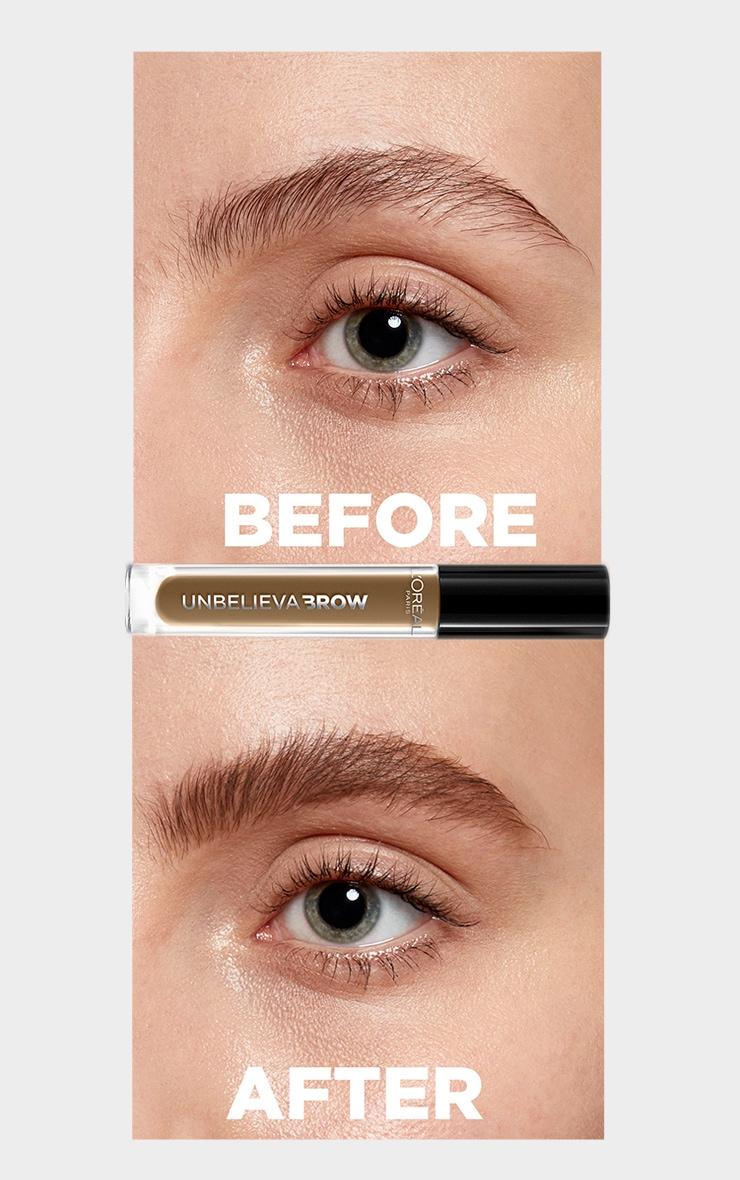 L'Oreal Paris Unbelieva'brow Long-Lasting Brow Gel 103 Warm Blonde 3