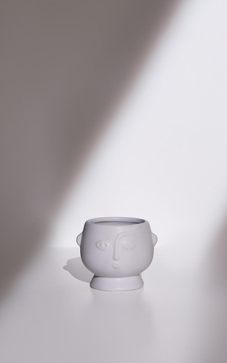 Grey Small Face Planter 3