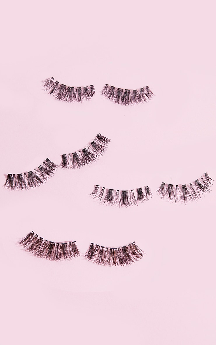 Doll Lash Multipack Of 4 False Eyelashes  3