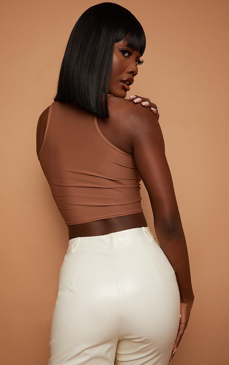La Bello Beauty 12 Black Synthetic Wig Iskaba Bob 2