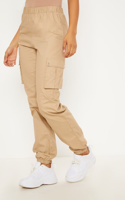 Tall Stone Pocket Detail Cargo Trousers