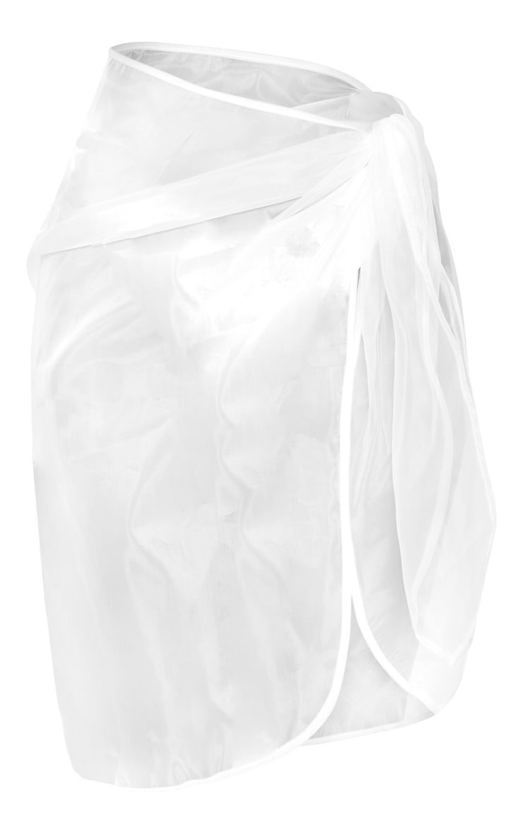 White Organza Sarong 3