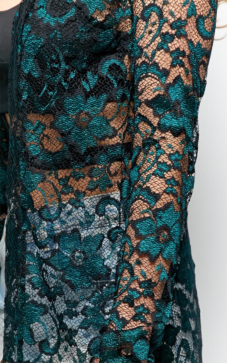 Antonia  Lace Luxe Full Length Kimono 3