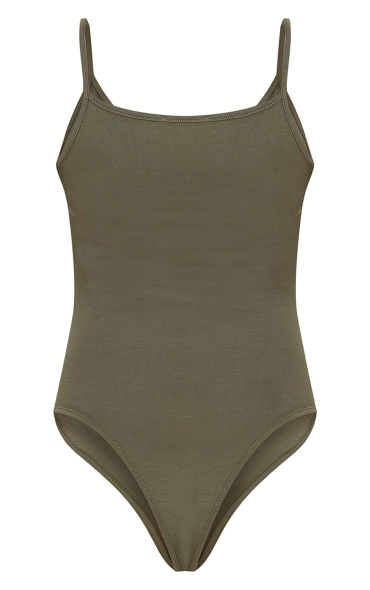 Basic Khaki Bodysuit Do Not Use 4