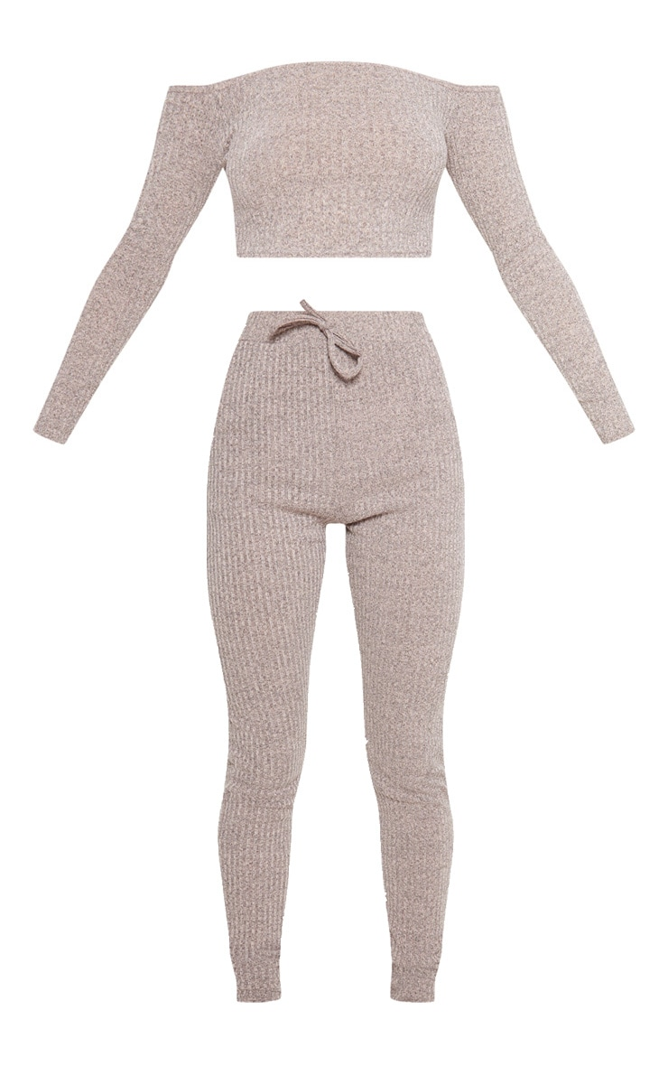Stone Bardot Knit Set 3