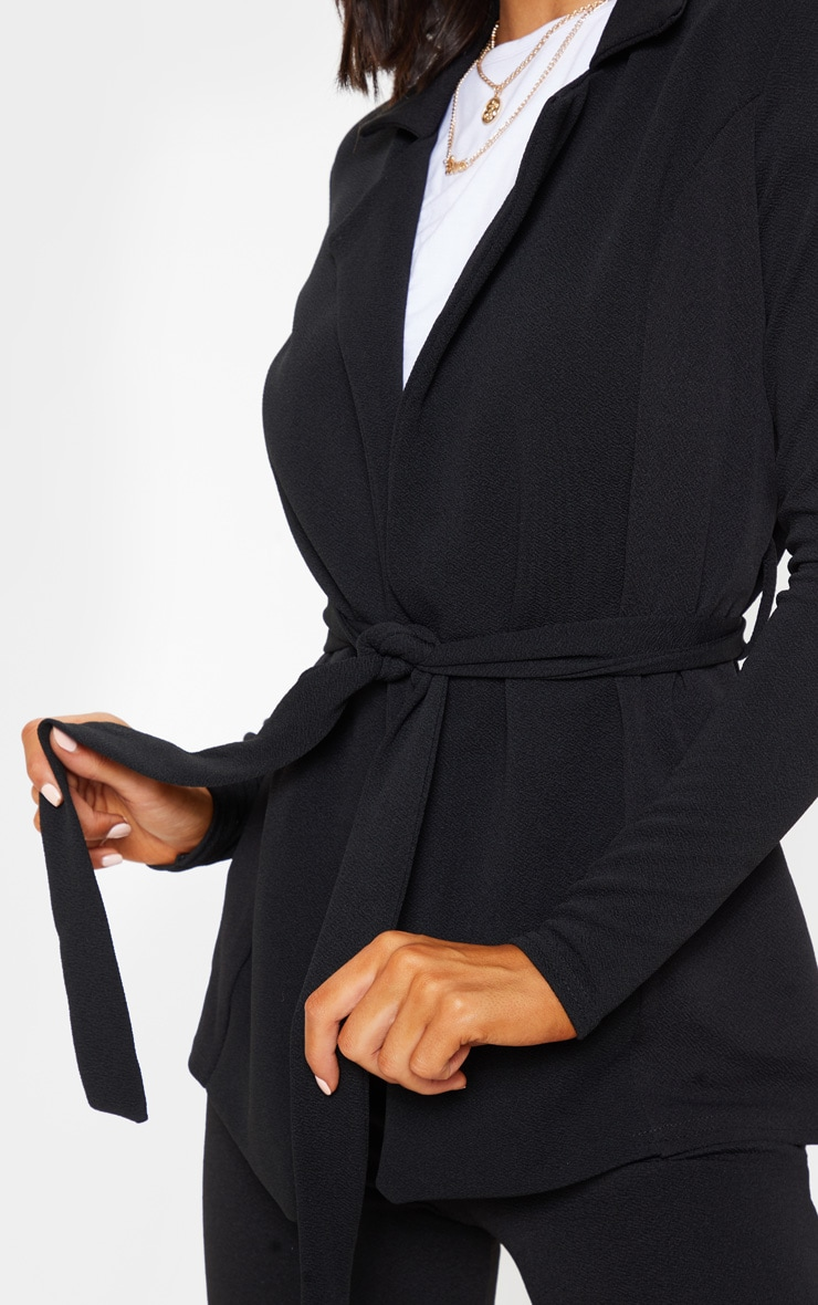 Black Belted Blazer  6