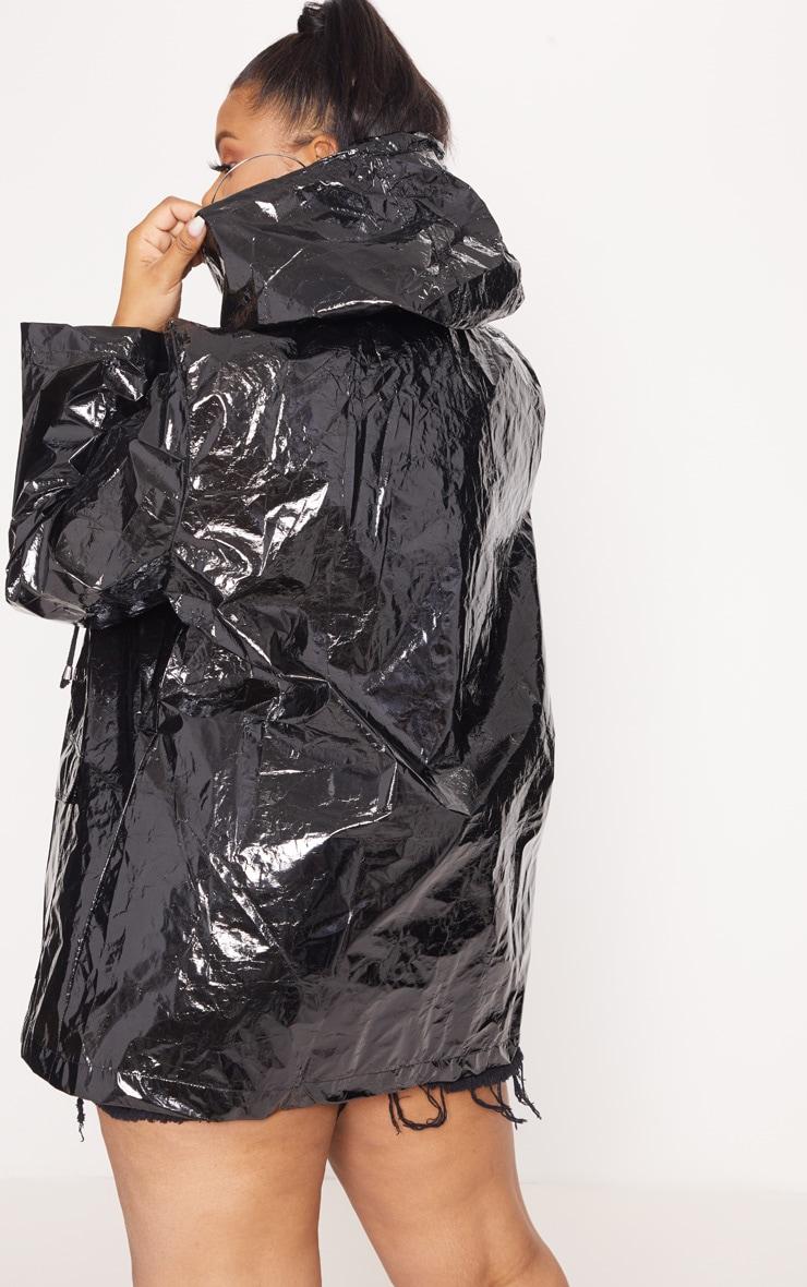 Plus Black  Holographic Rain Mac  2