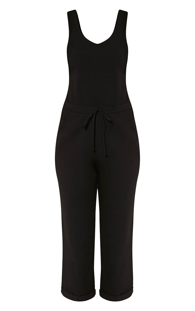 Shaya Black Loose Fit Jumpsuit 3