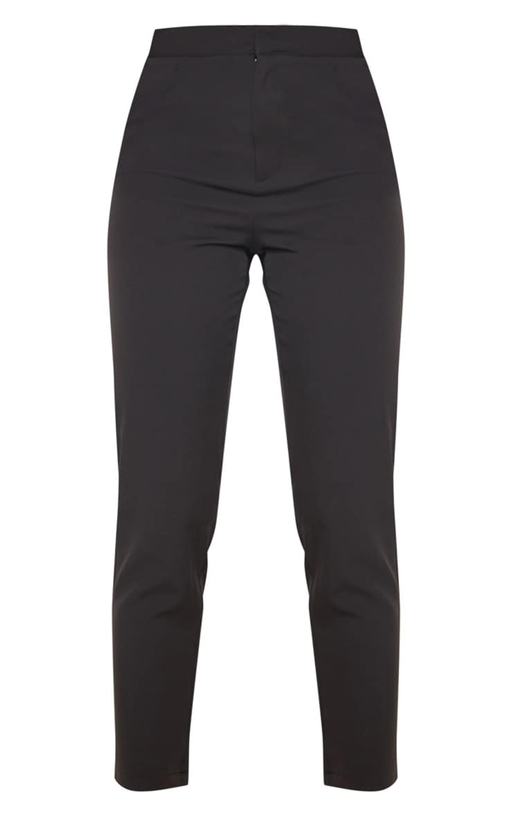 Black Cropped Trousers 3
