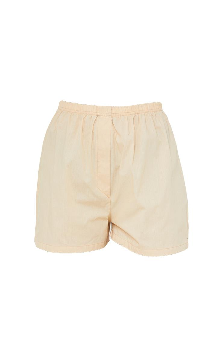 Stone Cotton Boxer Shorts 6